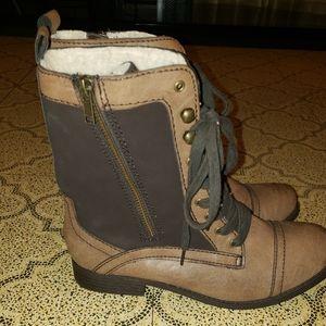 Report Combat boots